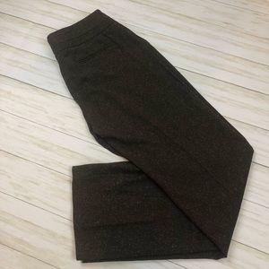 Apt 9 brown tweed dress pants sz 12